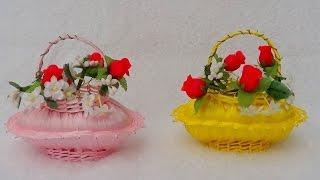 getlinkyoutube.com-DIY - Como fazer Cestinha Perfumada de Sabonete