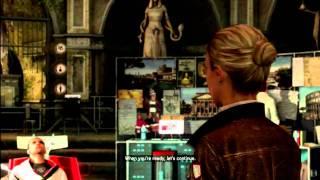 Assassin's Creed Brotherhood 'The Truth' Glitch. Lucy & Desmond Cutscene.