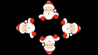 getlinkyoutube.com-Голограмма для пирамидки (Дед Мороз поздравляет)