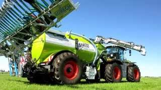 getlinkyoutube.com-CLAAS XERION 4000 TRAC VC + KAWECO Double Twin Shift | AGRALL Servis a.s.