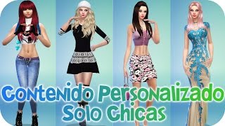 getlinkyoutube.com-Contenido personalizado para Chicas - Sims 4 - Reah Mods