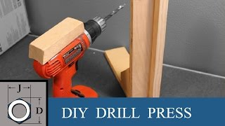 getlinkyoutube.com-How to Drill Straight holes without a Drill Press