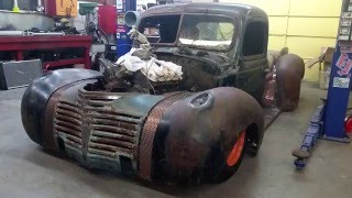 LETS BUILD A RAT ROD - making progress!