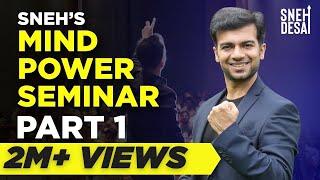 Sneh Desai's Mind Power Seminar Part 1 (in Hindi)