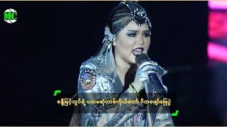 getlinkyoutube.com-Sandy Myint Lwin Staged First One Lady Show In Yangon
