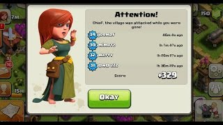 getlinkyoutube.com-Clash Of Clans Town Hall 8 Unstopable Trophy Base Defense |2015|