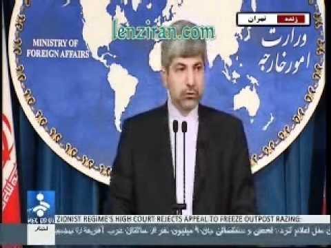 Foreign minitry spokesman Mehmanparast  :If Azarbayjan accept Mujahedin ,we will react hard