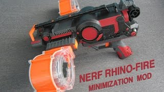 getlinkyoutube.com-NERF RHINO-FIRE MOD [MINIMIZATION AND NEW HANDLE]