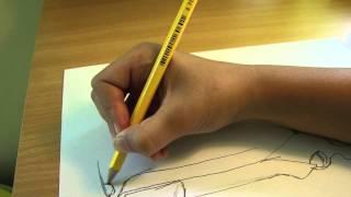 getlinkyoutube.com-Richdraw10: drawing a NERF rough cut 2x4