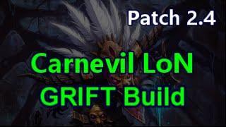 getlinkyoutube.com-Witch Doctor Carnevil LoN 75-85+ GRIFTS Diablo 3 Reaper of Souls