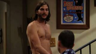 getlinkyoutube.com-Ashton Kutcher Gets Naked and Breaks Ratings Records For Two and a Half Men!