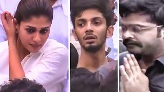getlinkyoutube.com-Simbu, Anirudh, Nayanthara pay homage to Jayalalithaa