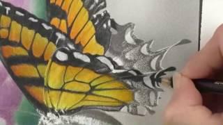 getlinkyoutube.com-Colouring Tutorial: Beautiful Creatures Grey Scale pencil colouring.