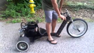 getlinkyoutube.com-INTUITIVE IRON MOTORIZED DRIFT TRIKE