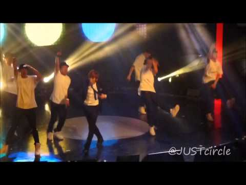 [Fancam] 120706 BAP Showcase -  JongUp Abs!!! ~ Medley