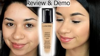 Lancome Teint Idole Ultra 24HR Foundation | REVIEW & DEMO