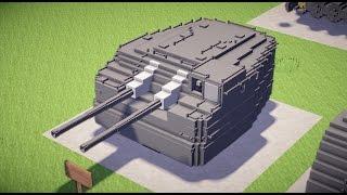 getlinkyoutube.com-【Minecraft】50口径3年式12.7cm連装砲C型+92式4連装魚雷発射管