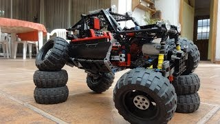 getlinkyoutube.com-Lego King of the Hammers Buggy/RockCrawler with INSTRUCTIONS