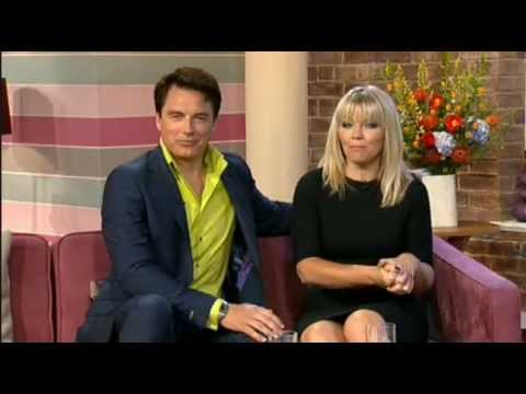 This Morning: John Barrowman and Kate Thornton interview comedian Angelos Epithemiou