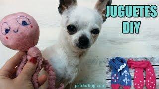 getlinkyoutube.com-JUGUETES PARA PERROS y GATOS con Calcetines! (≧◡≦)★  PetDarling Juguetes 2