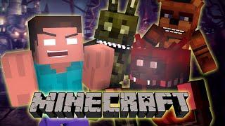 If Herobrine Went to FNAF World - Minecraft