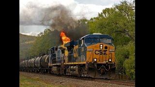 getlinkyoutube.com-CSX Q409-17 train on FIRE!!!!!!
