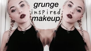 getlinkyoutube.com-Grunge Inspired Makeup | okaysage