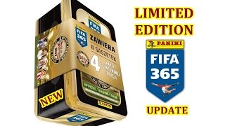 NEW Limited Edition - BIG puszka - FIFA 365 Update - Karty Panini - Adrenalyn xl
