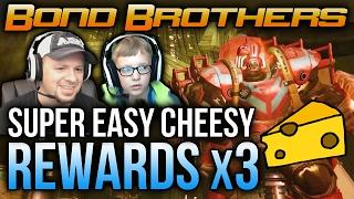getlinkyoutube.com-Destiny Shield Brothers Nightfall Rewards x3 Shield Brothers Cheese Too Easy
