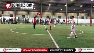 Dynamic FC vs Barcelona Liga Latinoamericana
