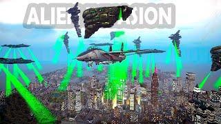 getlinkyoutube.com-Grand Theft Auto IV - Mods Gameplay Alien Invasion GTAIV Mods