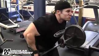 getlinkyoutube.com-Mr. O. Jay Cutler & Seth Feroce Back training with Hany Rambod Part 1/2
