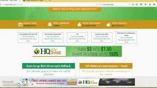 getlinkyoutube.com-Hq RevShare  - How To Sign Up Add Funds And Purchase Shares With Jamaal Streek