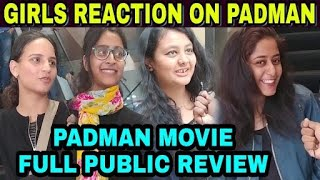 Padman First day Public Reaction | Girls review on Padman | Padman Movie Public Review reaction Film