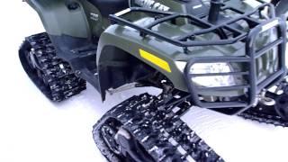 getlinkyoutube.com-2007 Artic Cat With Kimpex Commander Snow tracks