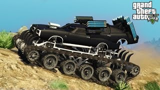 getlinkyoutube.com-★ GTA 5 - INSANE War Machine Mod with Working Guns! Epic Destruction & Showcase (GTA V PC Mods)