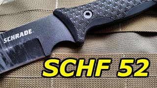 getlinkyoutube.com-Schrade SCHF52: Full Review
