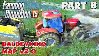 getlinkyoutube.com-Let's Play Farming Simulator 2015 | Baldeykino Map Part 8