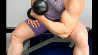 getlinkyoutube.com-DRA RITZ TV: Treinamento de Bíceps com Halteres