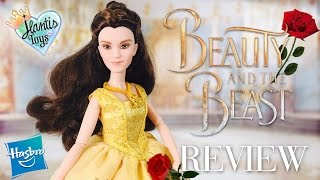 Enchanting Ball Gown BELLE Doll Review from HASBRO   Disney Beauty and The Beast Live Action