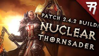 getlinkyoutube.com-Diablo 3 2.4.2 Crusader Build: Thorns Bombardment GR 98+ (LoN, Season 7 Guide)
