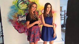 getlinkyoutube.com-Катя Клэп и Соня Есьман ELLE girl Март 2015 (съемка)