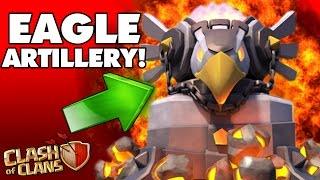 "getlinkyoutube.com-NEW UPDATE ""EAGLE ARTILLERY"" GAMEPLAY!!! | Clash Of Clans Winter Update!"