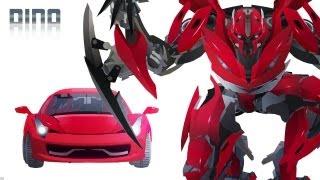 DINO(Mirage) Transform - Short Flash Transformers Series