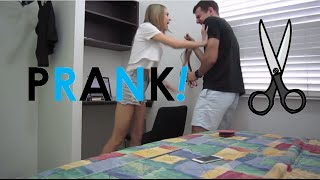 getlinkyoutube.com-Girlfriend goes CRAZY over PRANK!