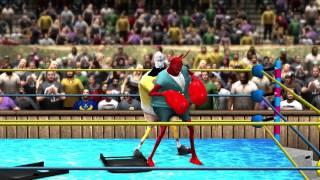 getlinkyoutube.com-WWE 13 Spongebob VS Mr. Krabs