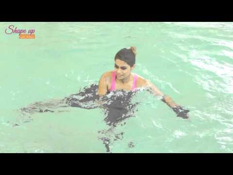 Aqua Aerobics Exercises - your guide to a fab upper body | Pool Exercises | Aqua Gloves