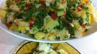 getlinkyoutube.com-طريقة عمل سلطة البطاطس How to make Potato salad