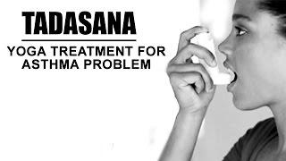 getlinkyoutube.com-Yoga Treatment for Asthma Problem   Tadasana Yoga