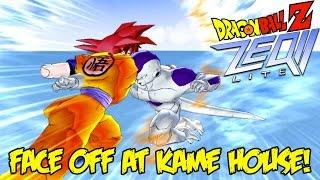 Dragon Ball Z ZEQ2: Face Off At Kame House! Frieza Can't Beat Super Saiyan God Goku!!
